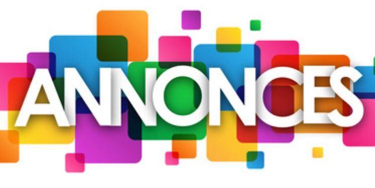 Annonces / Edito