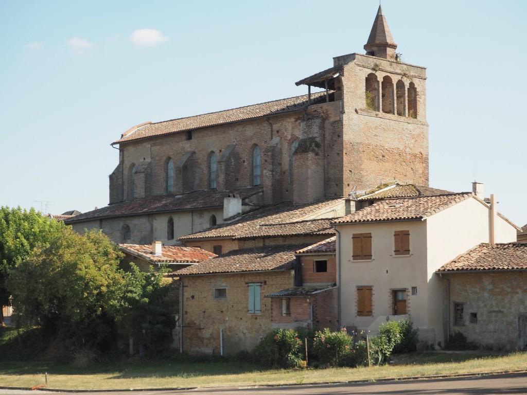 Eglise de Giroussens et village