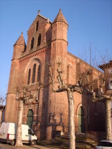 Eglise Saint Pierre des Blancs à Rabastens-Tarn