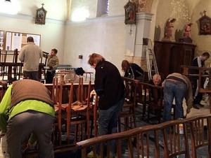 Nettoyage église Saint-Sulpice