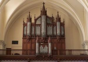 Photo orgues de Saint Sulpice