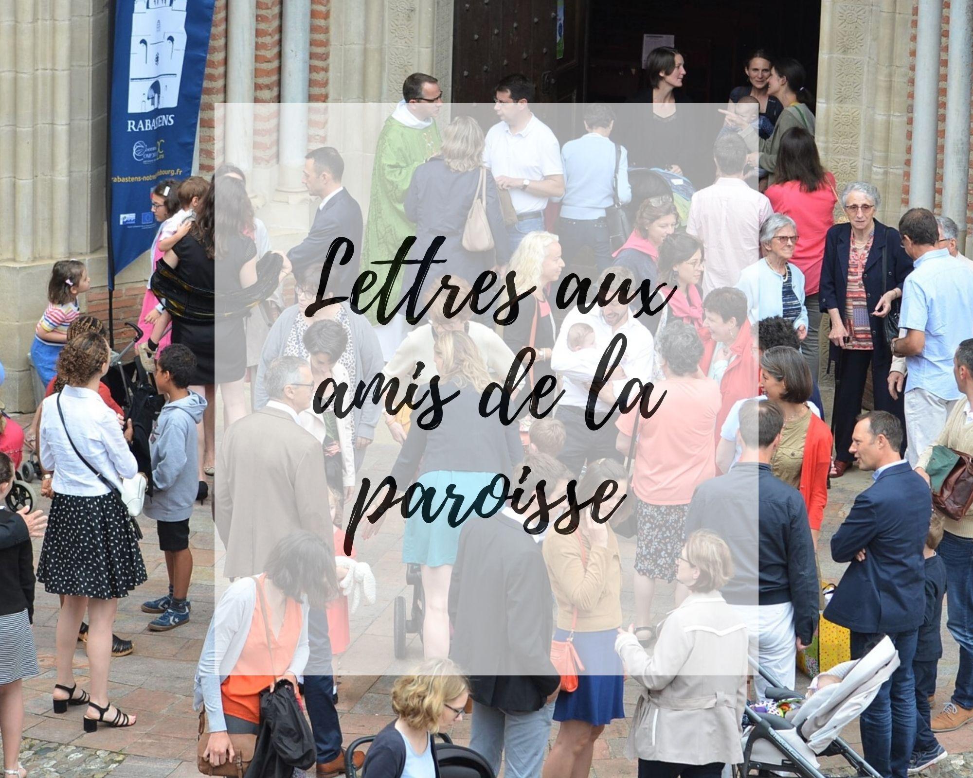 Lettres aux amis...