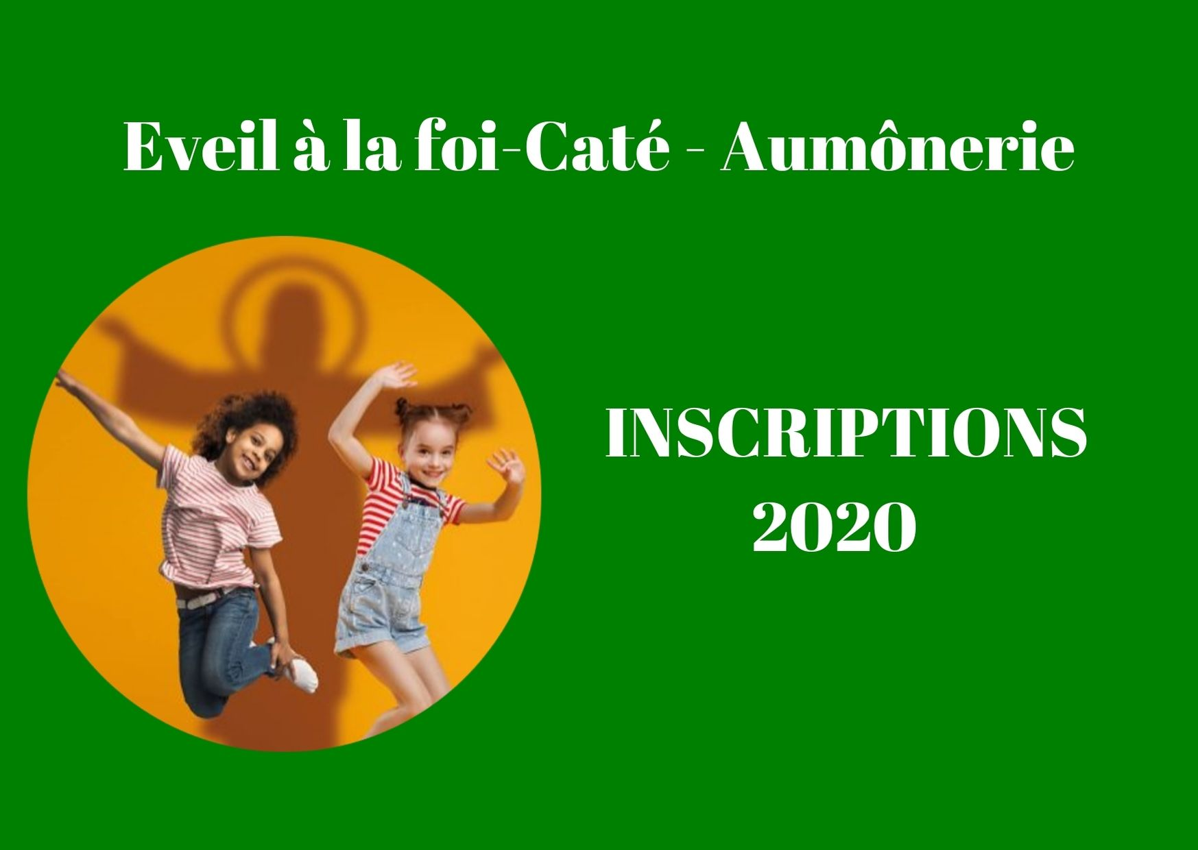 Inscriptions 2020