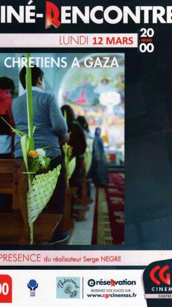 AFFICHE CHRETIENS GAZA