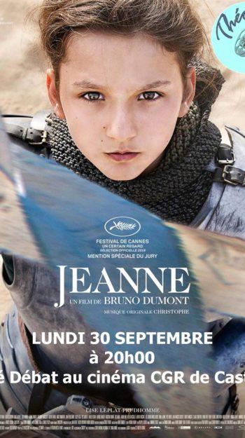 Affiche Jeanne Théo Ciné